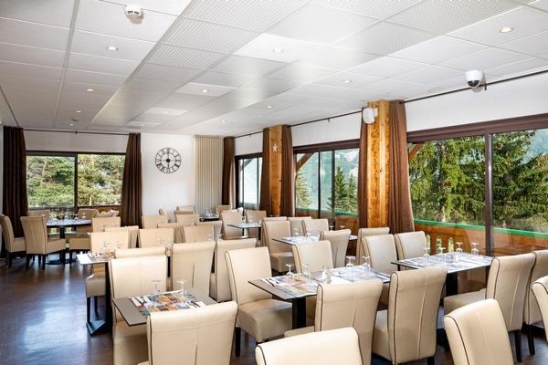 Les services de l'hôtel à Pra-Loup en été