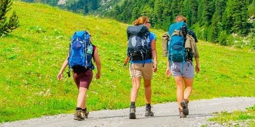 Les Alpes du Sud à Pra-Loup en Été