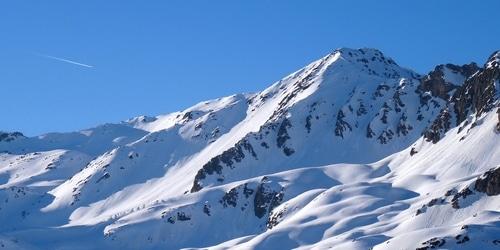 La Savoie à Valfréjus en Hiver